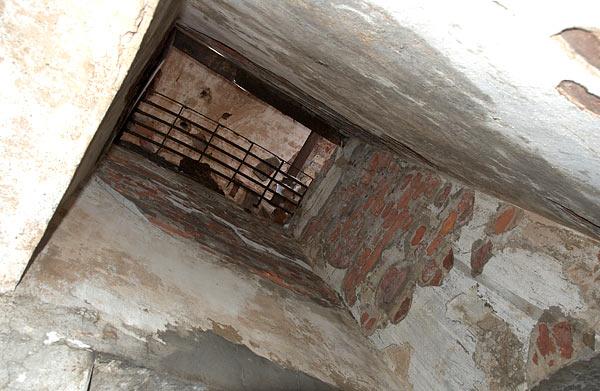 Ammunition elevator shaft - Southern Forts, Fort #2